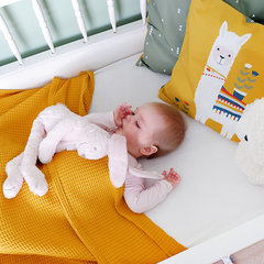ledikant deken wafelstof basic