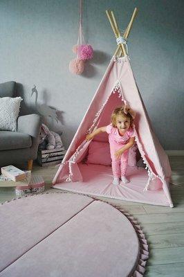 Tipi tent pink