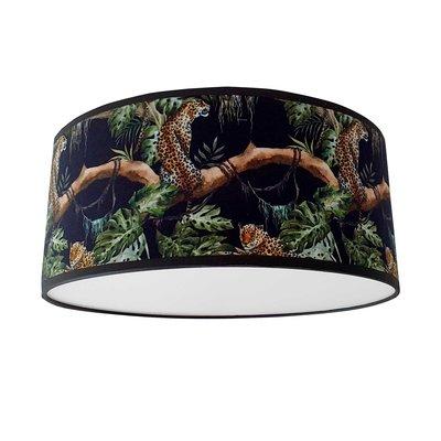 plafondlamp jungle zwart