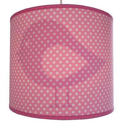 Hanglamp Silhouet Vogel roze