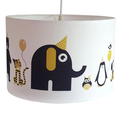 Lamp feestbeesten Geel