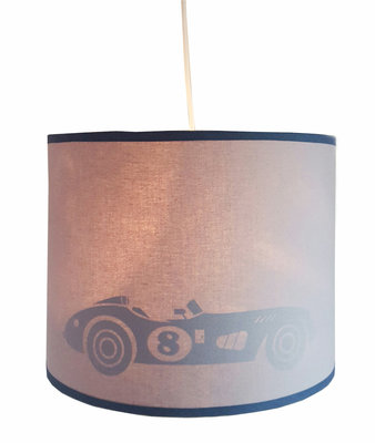 Hanglamp silhouet Retro race auto