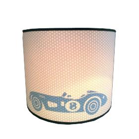 Hanglamp Silhout Retro race auto num 8