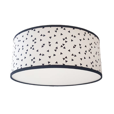 Plafond lamp Triangle wit