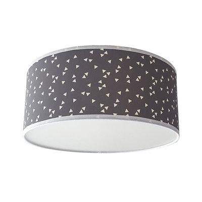 Plafond lamp Triangle grijs