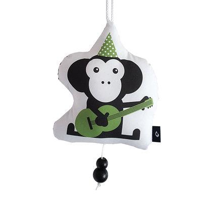 Muziekhanger Feestbeesten Aap groen