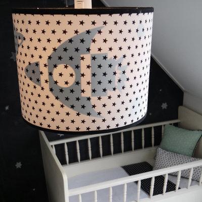 Hanglamp Silhouet Raket & Sterren