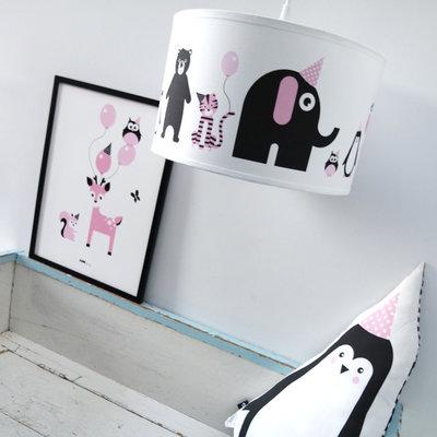 Lamp Feestbeesten Roze