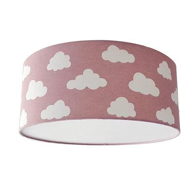 Plafond lamp wolken roze