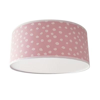 Plafond lamp stip poederroze