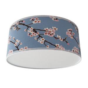 Plafondlamp lentebloesem lichtblauw