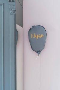 decoratie Ballon met naam