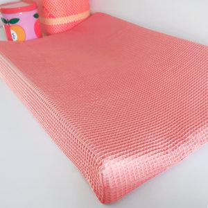 Aankleedkussenhoes Babykamer Wafelstof Basic | dieproze